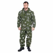 Костюм Стрелок (тк.Смесовая) брюки HUNTSMAN, КМФ березка