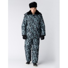 Костюм зимний для Охранника (брюки), КМФ город