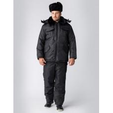 Куртка зимняя для Охранника, черный