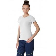 Футболка женская (тк.Трикотаж/Эластан,170), белый
