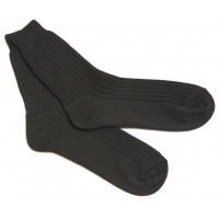 Носки мужские (тк.Шерсть/Полиэфир), черный