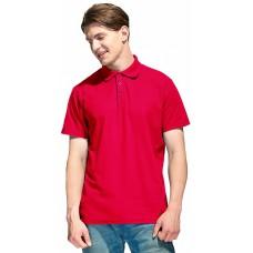 Рубашка-Поло NEW (тк.Трикотаж,205), красный