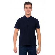 Рубашка-Поло NEW (тк.Трикотаж,205), т.синий
