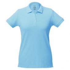 Рубашка поло женская Virma Lady, голубой