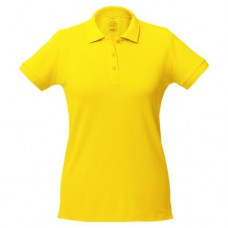 Рубашка поло женская Virma Lady, желтый