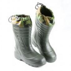 Сапоги мужские с чулком Mud&Snow-40 ЭВА/ТЭП ЭлитСпецОбувь,(2.1) олива