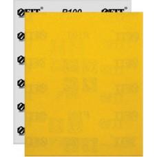 Бумага наждачная на бумажной финской основе, алюминий-оксидная, Профи, 230х280 мм, 10 шт. Р 100