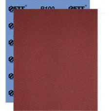 Бумага наждачная водостойкая, на тканевой основе, алюминий-оксидная, Профи, 230х280 мм, 10 шт. Р 100