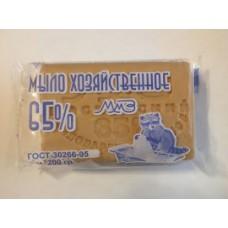 Хозяйственное мыло 65 % упакованное 200 гр.