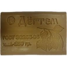 Хозяйственное мыло 72 % упакованное 150 гр. дегтярное