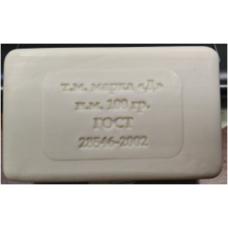 Туалетное мыло 100 гр. штампованное без упаковки
