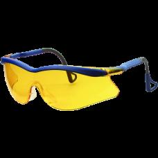 Очки 3М  открытые QX2000 из поликарбоната с покрытием DX, цвет линз желтый