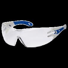 Очки открытые Uvex Феос; линза: Суправижн Экселленс, прозрачная, 2С-1,2; оправа: черно-зеленая