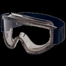 Очки Ампаро  Премиум двойные закрытые, непрямая вентиляция, прозрачные линзы  с AF-AS покрытием (п),арт. 222451