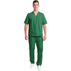 Костюм мужской хирурга (тк.ТиСи), т.зеленый