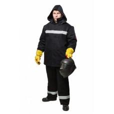 Костюм сварщика зимний WORKER (3 кл.защиты) (КСв 126W), черный