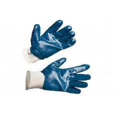 Перчатки нитриловые (синие) полное покрытие Стандарт (резинка)
