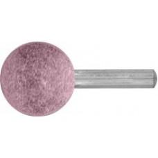 Шарошка абразивная (по металлу), хвостовик d=6 мм сфера 25 мм