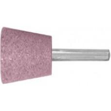 Шарошка абразивная (по металлу), хвостовик d=6 мм трапеция 25x20 мм