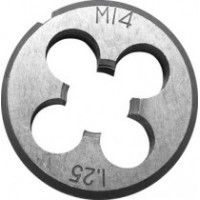 Плашка метрическая, легированная сталь 10х1,5 мм.