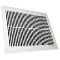 Решетка вентиляционная пластиковая 170 x 240 мм, съемная с сеткой