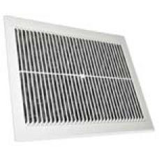 Решетка вентиляционная пластиковая 150 x 150 мм, без сетки