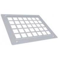 Решетка вентиляционная пластиковая без сетки.250 x 170 мм, тип 2