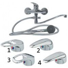 Смеситель для ванны керамический, «однорукий», 1. SERRA Espaso