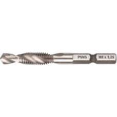 Сверло-Метчик комбинированное метрическое, быстрорежущая (HSS) сталь M3 x 0,5 мм, 16/54 мм