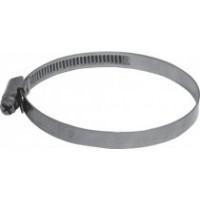 Хомут обжимной накатной (сталь) 16-27 мм