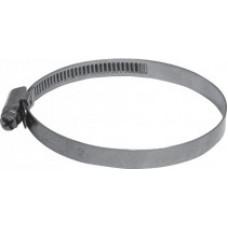 Хомут обжимной накатной (сталь) 8-12 мм