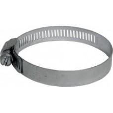 """Хомут обжимной просечной, сталь , 1,5"""" (21-38 мм)"""