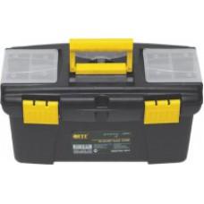 """Ящик для инструмента пластиковый, 2 органайзера 12"""" (32 x 17,5 x 16 см)"""