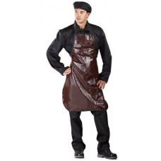 Фартук ПВХ с МБС-пропиткой, коричневый